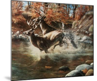 On the Run-Kevin Daniel-Mounted Art Print