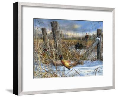 Corner Post-Kevin Daniel-Framed Art Print