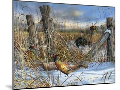 Corner Post-Kevin Daniel-Mounted Art Print