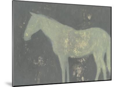 Sage Horse-Norman Wyatt Jr^-Mounted Art Print