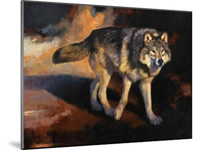 The Wolf Road-Julie Chapman-Mounted Art Print