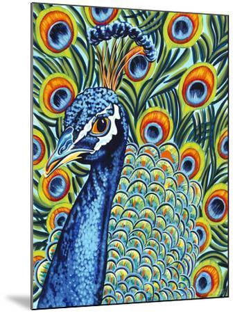 Plumed Peacock I-Carolee Vitaletti-Mounted Art Print