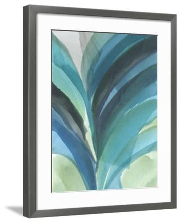 Big Blue Leaf II-Jodi Fuchs-Framed Art Print