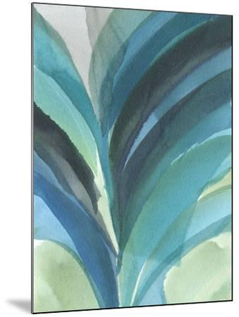 Big Blue Leaf II-Jodi Fuchs-Mounted Art Print