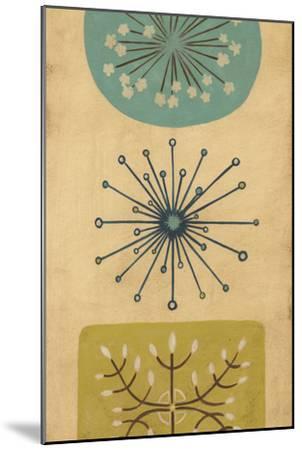 Starburst Trio I-June Erica Vess-Mounted Art Print