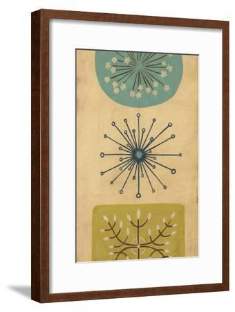 Starburst Trio I-June Erica Vess-Framed Art Print