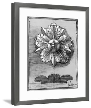 Custom Classical Sketch II-Ethan Harper-Framed Art Print