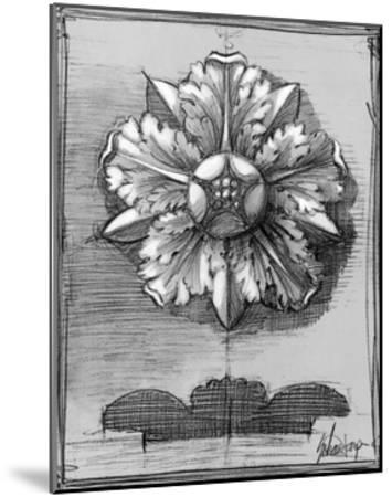 Custom Classical Sketch II-Ethan Harper-Mounted Art Print