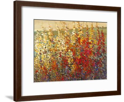 Field of Spring Flowers I-Tim O'toole-Framed Art Print