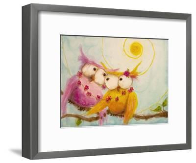 Hoo's Bound by Love-Marabeth Quin-Framed Art Print