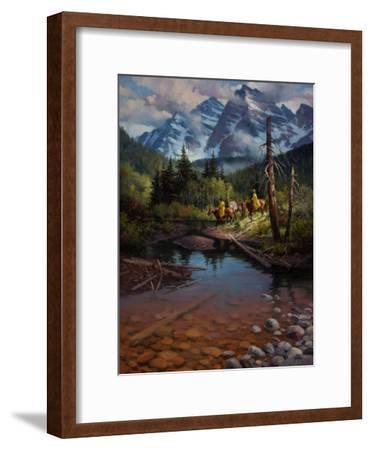 Ridin' the High Country-Jack Sorenson-Framed Art Print