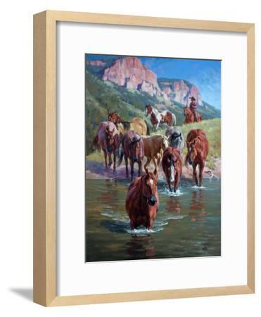The Crossing-Jack Sorenson-Framed Art Print
