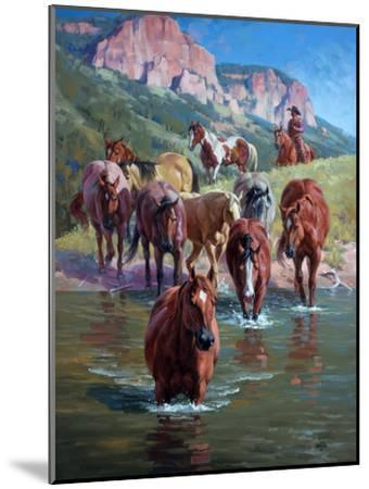 The Crossing-Jack Sorenson-Mounted Art Print