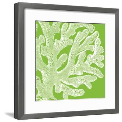 Saturated Coral II-Vision Studio-Framed Art Print