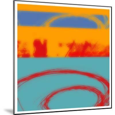 Surf's Up II-Ricki Mountain-Mounted Art Print