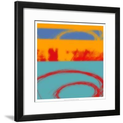 Surf's Up II-Ricki Mountain-Framed Art Print