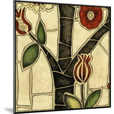 Small Floral Mosaic III-Megan Meagher-Mounted Art Print