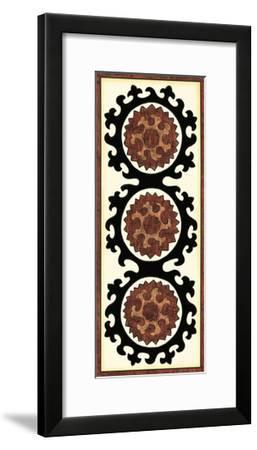 Small Suzani Panel IV-Chariklia Zarris-Framed Art Print