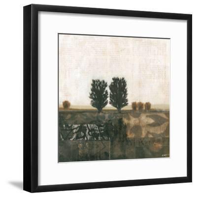 Global Landscape I--Framed Art Print
