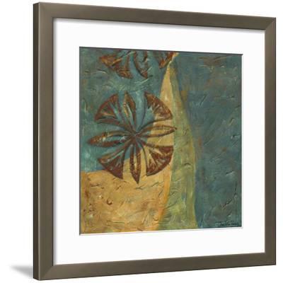 Lattice work VIII-Chariklia Zarris-Framed Art Print
