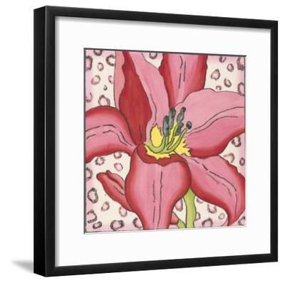 Pink Petals I-Nancy Slocum-Framed Art Print