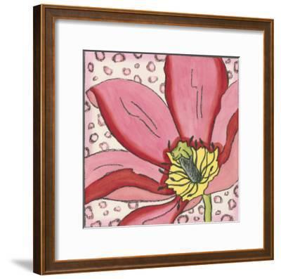 Pink Petals II-Nancy Slocum-Framed Art Print