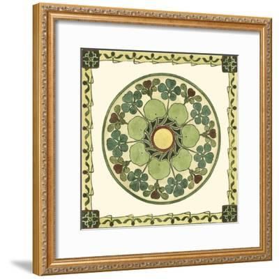 Arts and Crafts Plate II-Vision Studio-Framed Art Print
