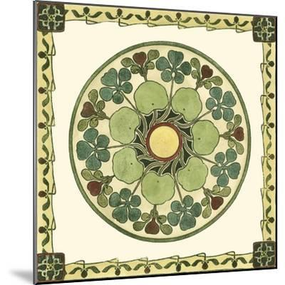 Arts and Crafts Plate II-Vision Studio-Mounted Art Print