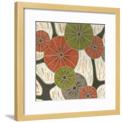 Morning Glories I-Karen Deans-Framed Art Print