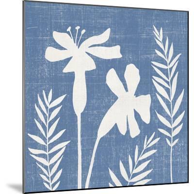 Small Blue Linen II-Megan Meagher-Mounted Art Print