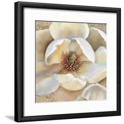 Magnolia Masterpiece II-Louise Montillio-Framed Art Print