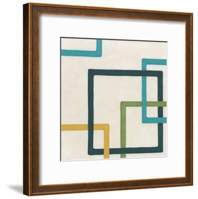 Non-Embellished Infinite Loop IV-Erica J^ Vess-Framed Art Print