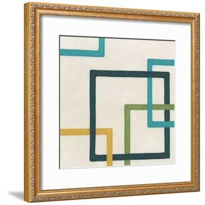 Non-Embellished Infinite Loop IV-Erica J^ Vess-Framed Art Print