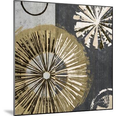 Outburst Tiles IV-James Burghardt-Mounted Art Print