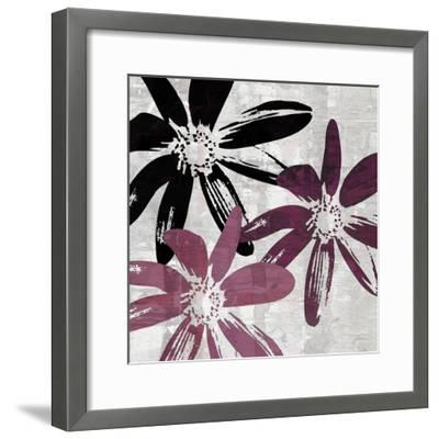 Bloomer Squares VII-James Burghardt-Framed Art Print