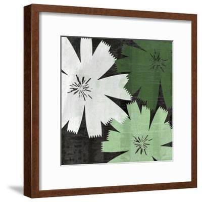 Bloomer Squares XVIII-James Burghardt-Framed Art Print