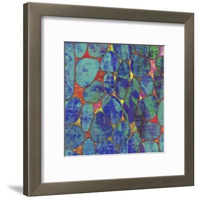 Stone Silhouettes II-Ricki Mountain-Framed Art Print