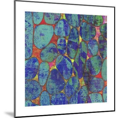 Stone Silhouettes II-Ricki Mountain-Mounted Art Print