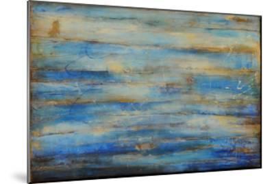 Blue Bay Jazz-Erin Ashley-Mounted Art Print