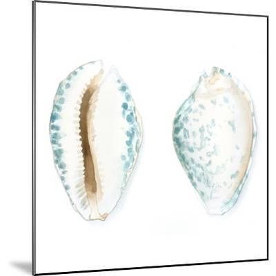 Watercolor Shells VI-Megan Meagher-Mounted Art Print