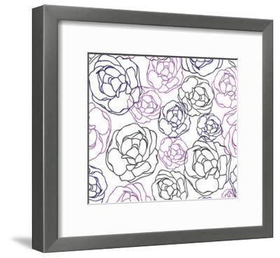 Cottage Rose Garden I-Ali Benyon-Framed Art Print