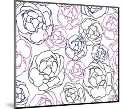 Cottage Rose Garden I-Ali Benyon-Mounted Art Print
