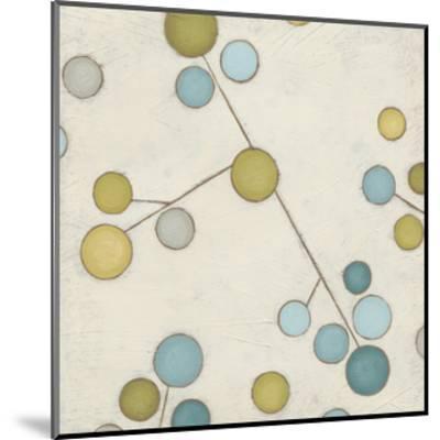 Molecular Blossoms IV-June Erica Vess-Mounted Art Print