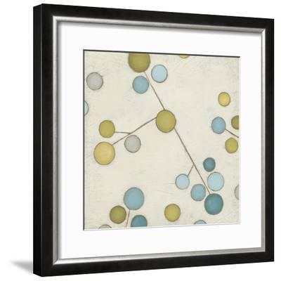 Molecular Blossoms IV-June Erica Vess-Framed Art Print