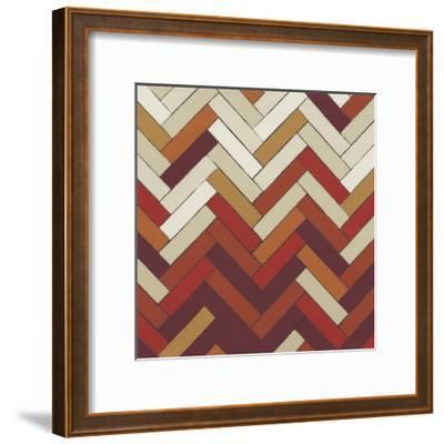 Parquet Prism III-June Erica Vess-Framed Art Print