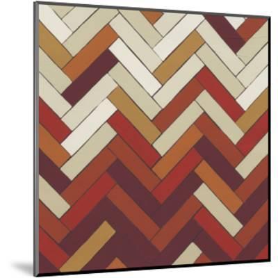 Parquet Prism III-June Erica Vess-Mounted Art Print