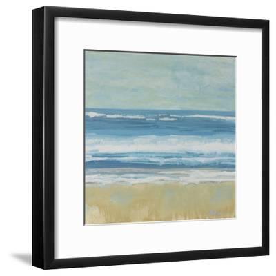 Puddle Beach-Dlynn Roll-Framed Art Print