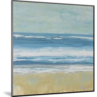 Puddle Beach-Dlynn Roll-Mounted Art Print
