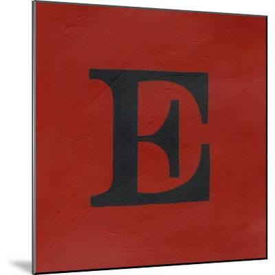 Lucien's E 6-Up-Chariklia Zarris-Mounted Art Print