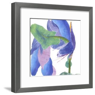 Surprise Indigo II-Carolyn Roth-Framed Art Print
